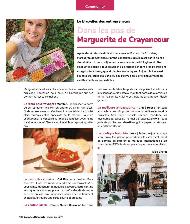 Bruxelles Métropole Magazine - Décembre 2019